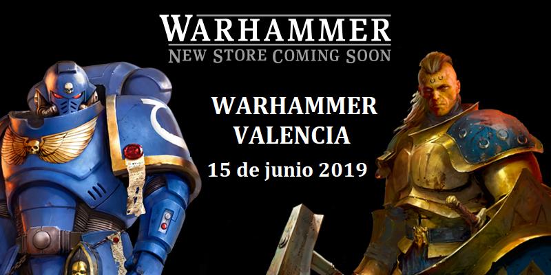 Nueva tienda warhammer valencia